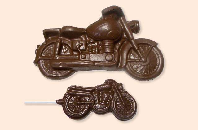 Chocolate Motorcycles: click to enlarge