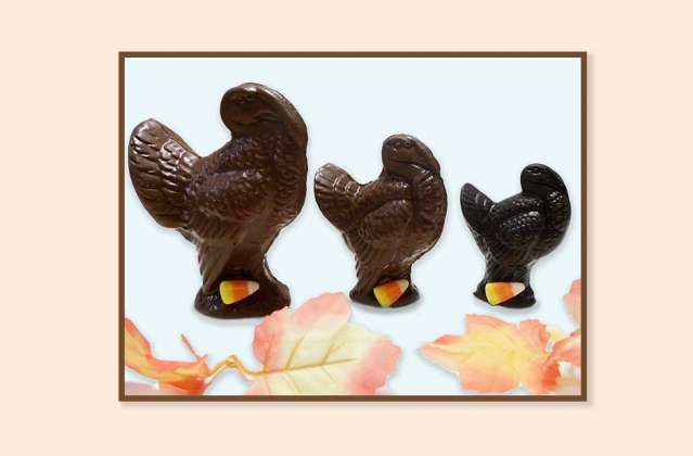 Chocolate Turkeys: click to enlarge