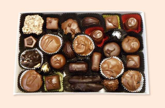 Sugar Free Assorted Mixed Chocolates: click to enlarge