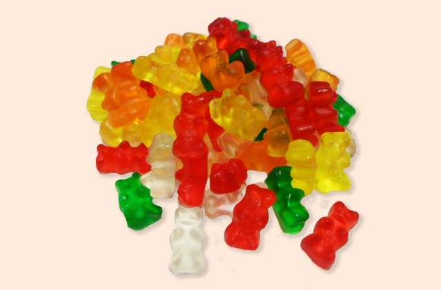 Sugar Free Gummy Bears: click to enlarge