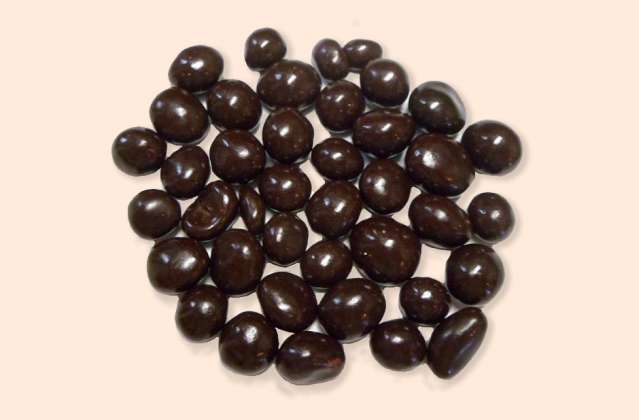 Dark Chocolate Covered Espresso Beans: click to enlarge