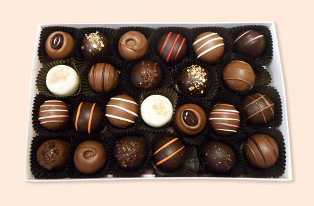 Assorted Truffles: click to enlarge