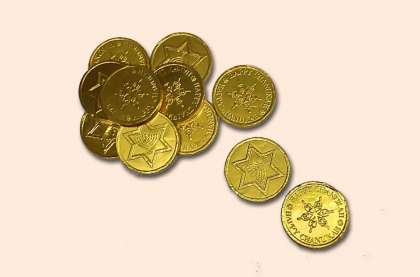 Jewish Coins: click to enlarge