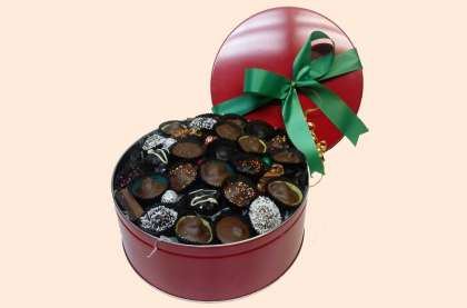 2 lb. Assortment Red Tin: click to enlarge