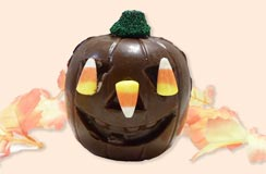 Chocolate Halloween Pumpkin